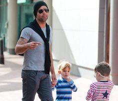 Ricky Martin y sus hijos, una familia con un 10 en estilo