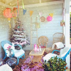 My veranda. My home. Christmas. ww.rodekers.com www.redcherryrodekers.blogspot.nl