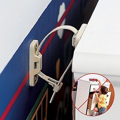No Tip Wall Safety Anchor For Furniture - One Step Ahead Baby