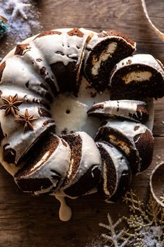 If there's anything that truly screams Christmas, it's gingerbread. To kick the season off I made a delicious Cream Cheese Swirled Chai Gingerbread Cake. Holiday Baking, Christmas Baking, All You Need Is, Sweet Butter, Gingerbread Cake, Half Baked Harvest, Christmas Desserts, Christmas Cakes, Christmas Goodies