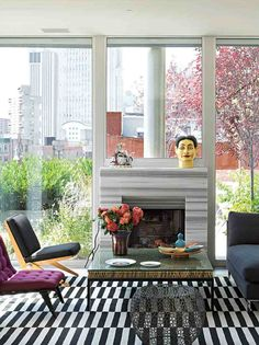 "It was fun to see Suzanne Slesin's living room in the recent ""New York Times"" article. I admire her non-minimalist style. A great apartment and the rug is the same one featured on the cover of my new book!  Stephanie Stokes, Inc.  www.stephaniestokesinc.com"