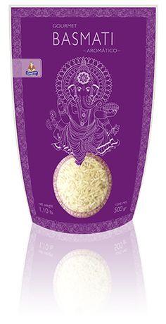 #BASMATI #RICE #GOURMET #ARROZ #packaging #design #diseño #empaque