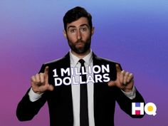 Related image Hq Trivia, 1 Million Dollars, Image, Fictional Characters, Fantasy Characters