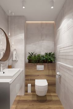 Like an excellent investment, a powder room has a significant role for your home. Find out awesome and beatiful powder room ideas here Bathroom Interior Design, Green Bathroom, Small Toilet Room, Modern Bathroom Design, Bathroom Design Inspiration, Wc Design, Bathroom Design Small, Bathroom Design Luxury, Bathroom Decor