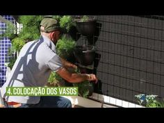 Como fazer um Jardim Vertical | Mondo Irrigação - YouTube