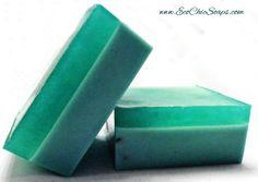 Mint Mint Mint  Shea Butter Aloe Handmade Gift by EcoChicSoaps, $6.00