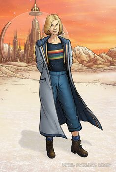 The 13th Doctor by PaulHanley.deviantart.com on @DeviantArt