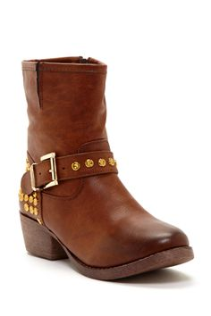 Merride Studded Boot <3 I really like something about these.