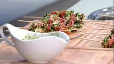 Pinchos de zucchini y jamón crudo | Estilo de Vida | FOX Play