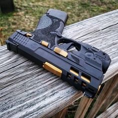 Just finished up this M&P Shield slide for DM me for quotes on custom slide work via Smith And Wesson Shield, Smith N Wesson, Weapons Guns, Guns And Ammo, S&w Shield 9mm, Bushcraft, M&p 9mm, Paintball Gear, Custom Guns