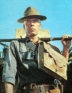 "via horrorharem: ""The Professionals"" 1966 Lee Marvin -Gear up!"