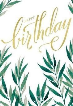 With bold letters and watercolor border, this birthday card's simple design delivers a big impact. Send a birthday wish to anyone in your life with this gorgeous sentiment from Hallmark Signature!