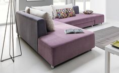 Coltar modular Split cu sezlong pe dreapta #homedecor #interiordesign #inspiration #sofa #livingroom #livingroomdecor #design #colors #purple Sofa Bed, Couch, Beds For Sale, Artificial Leather, Corner Sofa, Living Room Decor, Ottoman, Upholstery, Interior Design