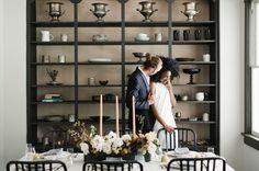 Modern Art: Minimalist Wedding Inspiration at a Catskills Mountain Home Indoor Wedding, Home Wedding, Plan Your Wedding, Wedding Things, Birch Wedding, Wedding Ceremony, Reception, Wedding Consultant, Green Wedding Shoes