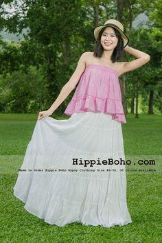 b2379241646 Plus Size Dress Skirt Gypsy Hippie Boho Style Beach Summer Maxi Long Skirt  Peasant Tiered Maxi