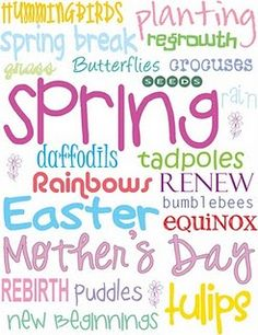 check out the printables and easter ideas