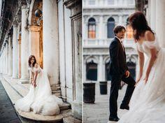 para młoda na placu św. Marka w Wenecji Wedding Dresses, Fashion, Stop It, Fotografia, Bride Dresses, Moda, Bridal Gowns, Fashion Styles