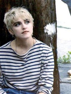 Madonna from her 'Papa Don't Preach' days