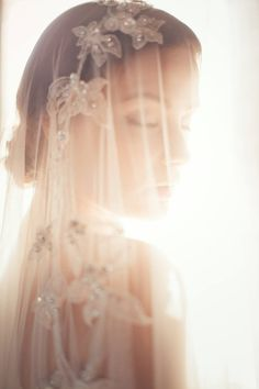Light - inspiration - mood - bridal - veil by Jannie Baltzer - Photography by Sandra Åberg