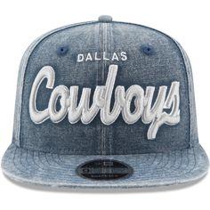 6ffccb92d0f New Era Dallas Cowboys Navy Rugged Specialty Mark Original Fit 9FIFTY  Adjustable Snapback Hat