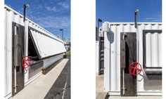 Quartyard Counterbalance Pulley System Shipping Container
