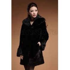 2013 fur overcoat with the latest making craft for women, long length entire mink fur making craft with luxury appearance