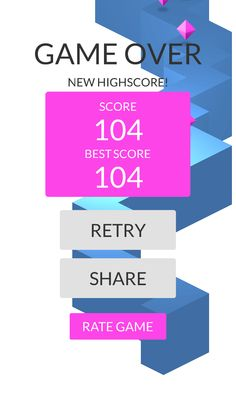 OMG!Imade 104 zigzags playing #ZigZag https://itunes.apple.com/app/id951364656