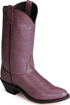 purple cowboy boots - I MAY have a coronary!