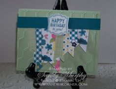Label Love Birthday by Sandy Murphy - Cards and Paper Crafts at Splitcoaststampers