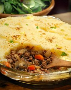 Shepherd's Pie Recipe Video : Here's a one-pot dinner that will satisfy your comfort food craving. This beef shepherd's pie is an easy healthy recipe for a meat and potatoes dinner.