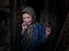 Shy by sansni   •   Little girl of Turtuk Village, Nubra valley, Ladakh, India.
