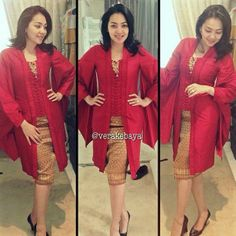 KEBAYA (Indonesia National Dress) by Vera Kebaya
