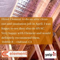 We appreciate your great review, Debbie! The Element Home Solutions staff is pleased that we had the chance to help you improve your home comfort with a properly insulated attic, and get that AC task done for you as well! #localACservice #homeinsulationinstallers #wholehomecomfort #ElementHomeSolutions Air Conditioning Services, Heating And Air Conditioning, Hvac Installation, Clean Air Ducts, Hvac Repair, Home Insulation, Duct Cleaning, Home Comforts, Attic