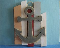 Anchor on Gate Wall Decor by MumkenzGiftShop on Etsy