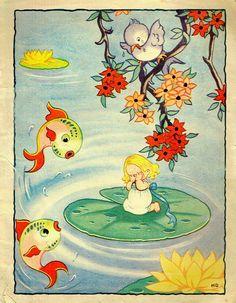 """Little Thumbelina"" ~ by Kay Druce"