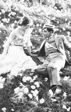 Norma Shearer and Ramon Novarro in The Student Prince in Old Heidelberg, 1927
