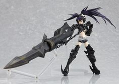 Black Rock Shooter Figure DVD Box [Limited Edition]