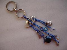AVENUE FASHION KEYRING = ΜΠΡΕΛΟΚ: KEYRING - ΜΠΡΕΛΟΚ 2009 Amulets, Jewerly, Charms, Personalized Items, Handmade, Fashion, Hand Made, Moda, Jewelry