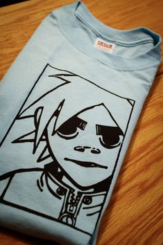 2D Gorillaz Screenprinted TShirt by mosaicshirts on Etsy, $16.00!!!!!!!!