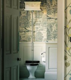 Situated in a stunning rural location this beautiful home from our Georgian mansion case study has been passed down through the generations… Georgian Style Homes, Georgian Mansion, Georgian Interiors, Downstairs Toilet, Guest Toilet, Edwardian House, Toilet Design, Decoration Table, Beautiful Bathrooms