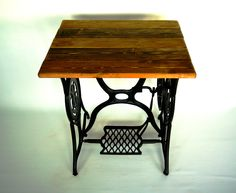 Singer Table, Mosaic Projects, Sewing Table, Mosaic Designs, Antiques, Furniture, Home Decor, Antiquities, Antique