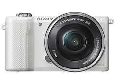 The Sony Alpha 5000 is a skilled and mirror less digital camera featured with a 20.1 megapixel APS-C-sized Exmor CMOS sensor and powerful BIONZ X image processor to produce high-resolution images and full HD movies with ability to click photographs in low-light condition and sensitivity up to ISO 16000.