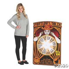Fortune Teller Cardboard Stand-Up | Oriental Trading