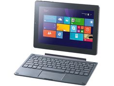 "TOUCHLET 10,1""-Tablet-PC XWi10.twin mit IPS-Display und Windows 8.1 TOUCHLET Windows 8"