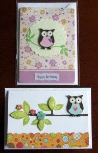 Handmade cards for October 2012 | Jackie Ellis