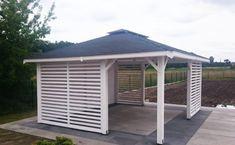Garden Inspiration, Gazebo, Shed, Outdoor Structures, Outdoor Decor, Invitation, Gardening, Home Decor, Wood