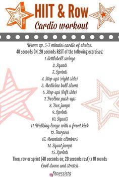 Tucson workouts + HIIT & Row Cardio