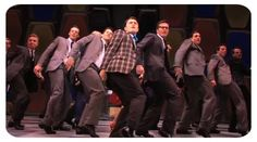 How to succeed in business (without really trying)....One of the best shows I have ever seen...with one of the most epic closing numbers.