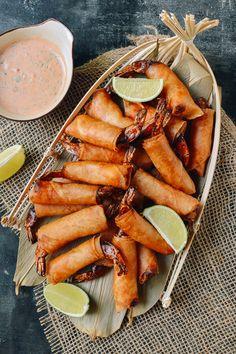 Coconut Firecracker Shrimp recipe by the Woks of Life
