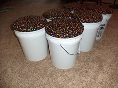 Bucket Seats for the classroom made from 5-Gallon Buckets! (tutorial included)